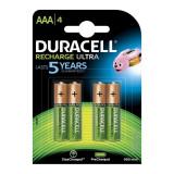 Set acumulatori Duracell, 4 x AAA, 900 mAh, 4 bucati