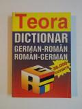 DICTIONAR GERMAN - ROMAN , ROMAN - GERMAN , 38.000 DE CUVINTE , IN PAGINILE 185 - 226 NOTIUNI DE GRAMATICA GERMANA de ALEXANDRU ROMAN , MIHAIL ISBASES