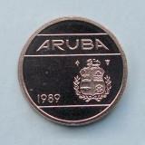 ARUBA  -  5 Cents 1989  -  UNC