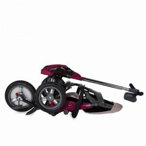 Tricicleta multifunctionala 4 in 1 cu sezut reversibil Coccolle Velo Air Violet