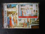 Bloc timbre pictura stampilat Ajman timbre arta timbre picturi