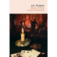 Dama de pica si alte povestiri. A.S. Puskin. Carte pentru toti. Vol. 98