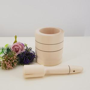 Mojar din lemn cu pisalog