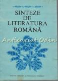 Sinteze De Literatura Romana - Viorel Alecu, Margareta Barbuta, Const. Ciopraga