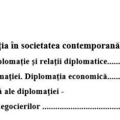 Lucrare licenta-Diplomatia in relatiile economice internationale