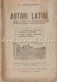 Autori Latini - G. Cornilescu