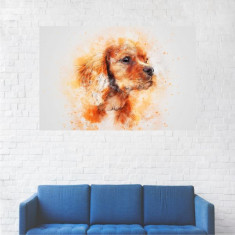 Tablou Canvas, Portret Golden Retriever - 20 x 30 cm