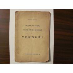 "GE - Ioachim FUIOAGA ""Sfichiuri, Flori, Raze, Arme, Diverse / VERSURI"" / 1934"
