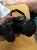Fujifilm FinePixS + camera 360 + lentile telefon + geanta