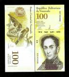 Venezuela 100 bolivares 2017 - UNC