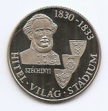 Ungaria 100 Forint 1983 (Count István Széchenyi) 32 mm KM-633 UNC !!!