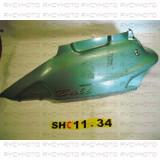Carena plastic caroserie laterala stanga spate Honda Bali 50 100CC 1994 - 1998