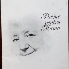 MIRCEA MICU - POEME PENTRU MAMA (editia princeps, 1984) [dedicatie / autograf]