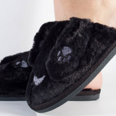 Papuci de casa negri (cod 418004)