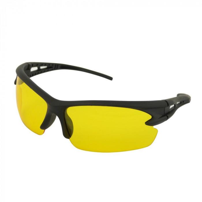 Ochelari pentru condus pe timp de noapte si pe timp de ploaie, cu lentile galbene Kft Auto