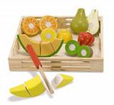 Set fructe lemn pentru taiat