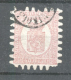 Finland 1866 Coat of arms 40P Mi.9Cx used AM.390