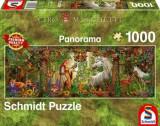 Puzzle Magic Forest, 1000 piese, Schmidt