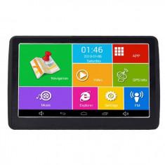 "Navigator GPS Auto Techstar M9X cu Android OS tip Tableta cu 512 RAM Wifi Display 7"" HD Capacitiv"