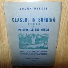 GLASURI IN SURDINA SI PRIETENIILE LUI MIRON  42 DE GRAVURI IN LEMN