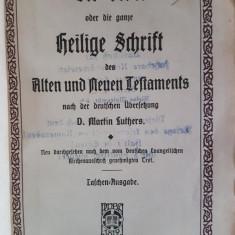 D. MARTIN LUTHERS  -  DIE BIBEL SCHRIFT - BIBLIA {1916}