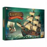 Cumpara ieftin Puzzle 3D - Nava San Felipe, 248 piese, CubicFun