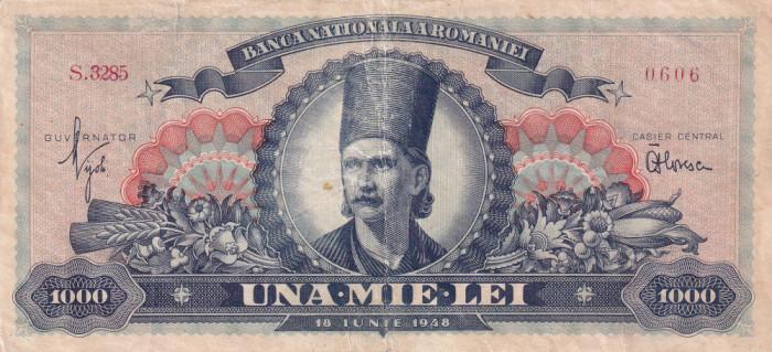 Romania 1000 lei 18 iunie 1948 - Tudor Vladimirescu - P-85