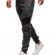 Pantaloni de trening bărbați negru Bolf TC878
