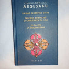 KARMA SI DREPTUL DIVIN .TREZIREA SPIRITUALA = OVIDIU DRAGOS ARGESANU
