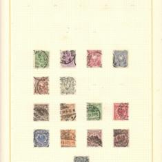 DEUTSCHES REICH,FRANTA,ANGLIA.1840/1940 Colectie cronologica 600 buc. timbre