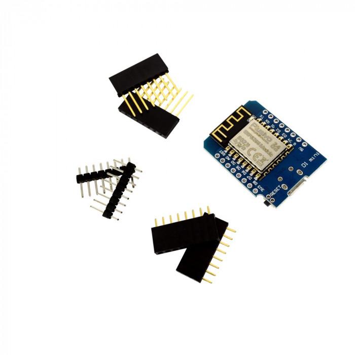 Placă de Dezvoltare Plusivo D1 Mini ESP8266
