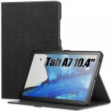 Cumpara ieftin Husa Infiland Classic Stand compatibila cu Samsung Galaxy Tab A7 10.4 inch Black