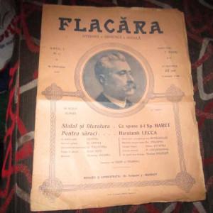 revista flacara an 1912 plina de reclame de epoca b3