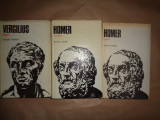 Odiseea an1979- Homer + Iliada an1985- Homer + Eneida an1980- Vergiliu