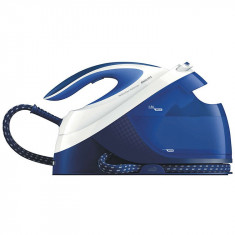 Statie de calcat Philips PerfectCare Performer GC8731/20, 2400 W, talpa SteamGlide, 1.8 l, 390 g/min, OptimalTemp, detartrare automata, Soft Grip, alb