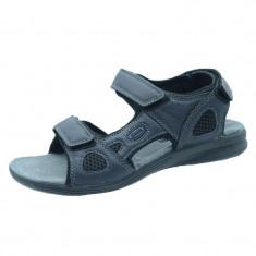 Sandale ortopedice barbati American Club HL08/19, Bleumarin