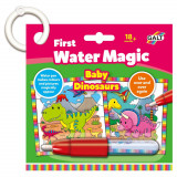 Prima mea carticica Water Magic - Micutii dinozauri
