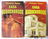 """CASA BUDDENBROOK. Declinul unei familii"", Vol. I+II, Thomas Mann, 1993, Alta editura, F.M. Dostoievski"