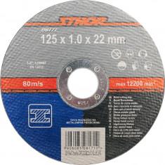 Disc debitat metale 125x1x22 mm STHOR