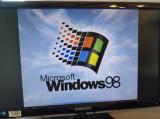 Kit Intel Celeron 1ghz, Windows 98 instalat, 256mb sdr, hdd 10gb, FUNCTIONAL