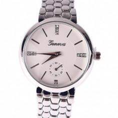 Ceas de dama elegant Geneva Silver DAMA25