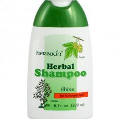 Sampon Pentru Par Degradat Herbacin Cu Hamei Si Henna 200 ml
