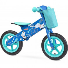 Bicicleta fara Pedale din Lemn Zap 2018 Blue