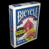 Carti pentru trucuri Bicycle Short Decks, albastre