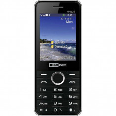 Telefon mobil MaxCom MM136 Dual SIM Black Silver