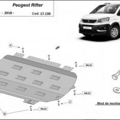 Scut motor metalic Peugeot Rifter 2018-prezent