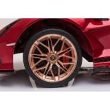 Masinuta electrica Lamborghini Sian 12V rosu, Piccolino