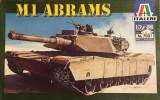 Machetă tanc M1 ABRAMS (1:72) Neasamblat, kit complet, cutia originală!