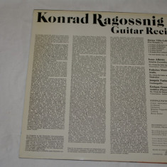 Konrad Ragossnig - Guitar recital - vinil - Supraphon - 1980