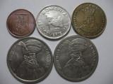 Romania (79) - 1 Leu 1993, 10, 20, 100 Lei 1992, 100 Lei 1994